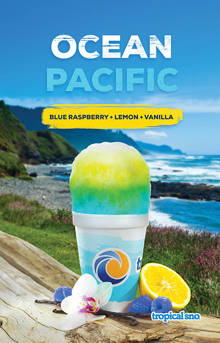 Tropical Sno Ocean Pacific Poster Design By Alexander Hofstetter