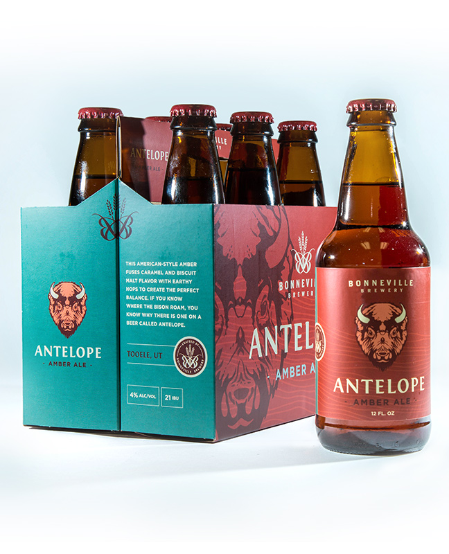 Bonneville Brewery Package Design Main Image