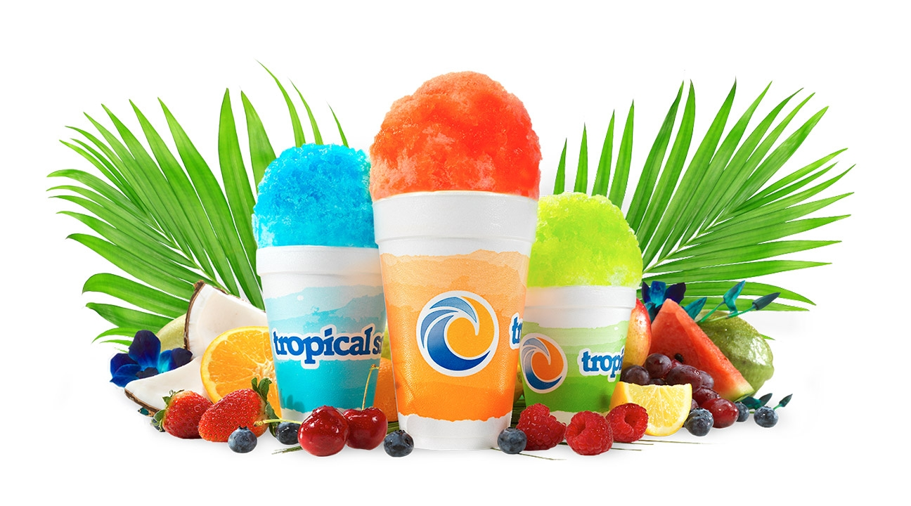 Tropical Sno Banner Image