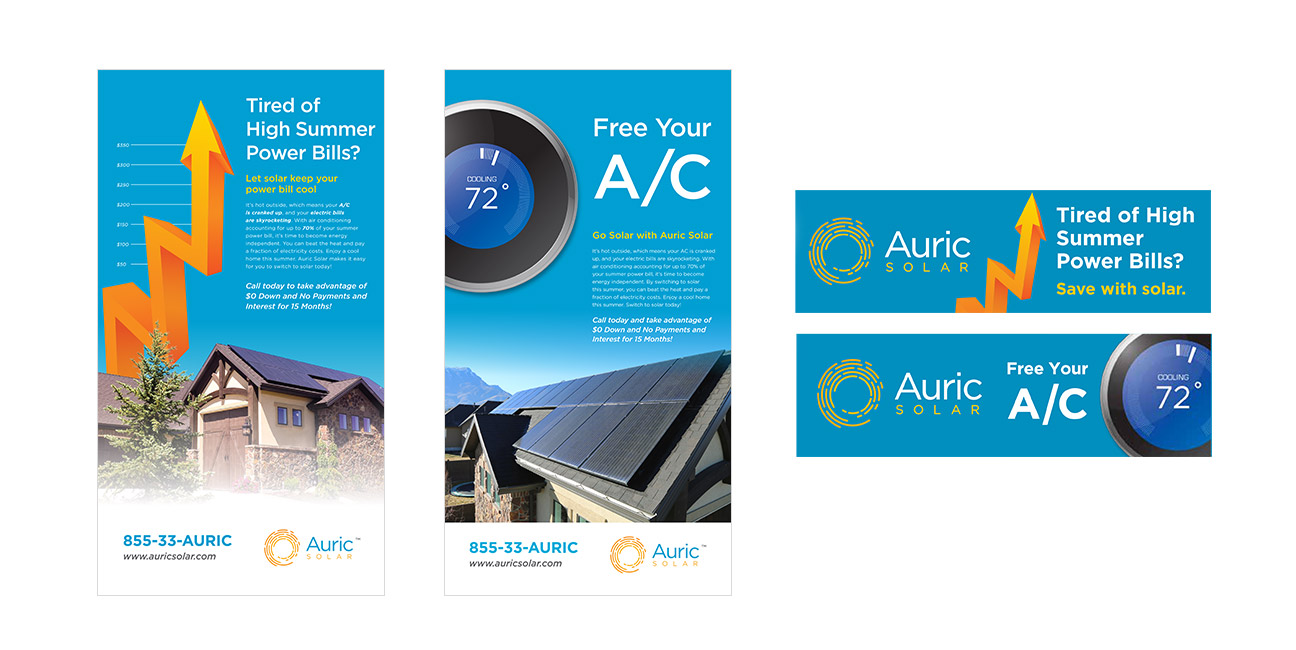 Auric Solar Billboard Graphic Design And Ad Designs By Alexander Hofstetter